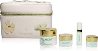 Valmont Prime Renewing Pack Loves You Set : Purifying Pack Face Mask 15ml+Moisturizing Eye-C-Gel 5ml+Moisturizing Serumulsion 5ml+Prime Renewing Pack 30ml 4pcs+1case