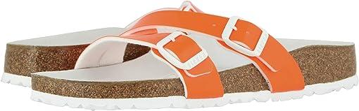 Neon Orange Patent Birko-Flor™