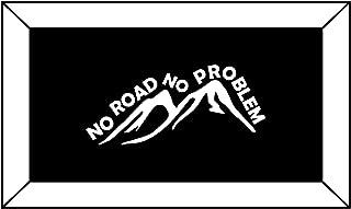 T1437 Off Road - No Road No Problem Decal Sticker - 3.00