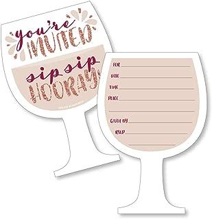 wine tasting birthday invitations