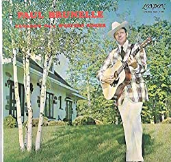 Paul Brunelle: Canada's No. 1 Western Singer LP VG++/NM Canada London EBX. 4177