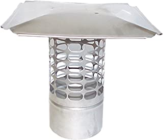 The Forever Cap CCSS9R 9-Inch Stainless Steel Slip in Round Chimney Cap