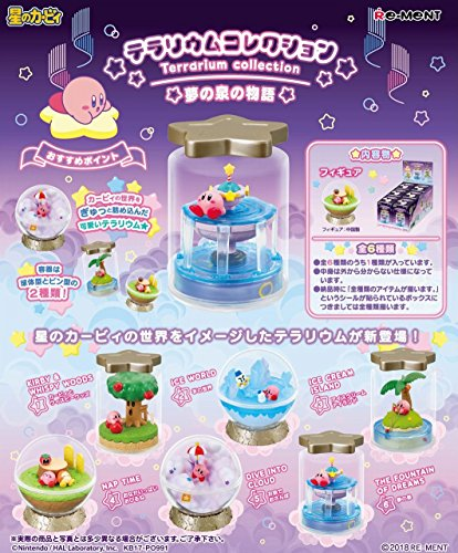 Re-Ment Star's Kirby Terarium Collection Story of Fountain of Dreams BOX (6 Figures With All 6 Types)