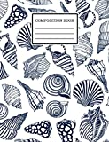Composition Book: Cute seashell, Wide Ruled Primary Copy Book, SOFT Cover Girls Kids Elementary School Supplies Student-Teacher Daily Creative Writing, seashell Journal, 120 Pages