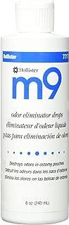 Hollister M9 Odor Eliminator Deodorant Drops, 8 Fluid Ounce