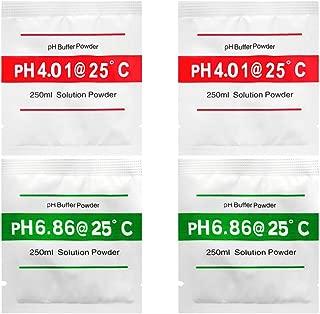 Honmofun PH 4.01 PH 6.86 PH Buffer Solution Buffer PH Buffers Easy PH Powder PH Buffer Powder PH Meter Buffering Solutions PH Buffer Calibration Solution PH Meter Calibration Solution