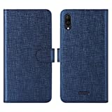 CRESEE Wiko Y80 Case, Flip Cover Leather Wallet [Magnetic