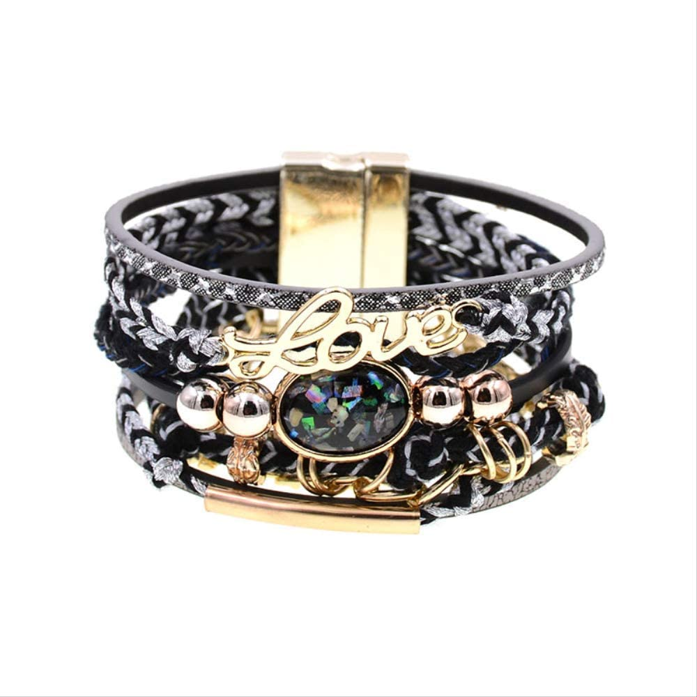 Women Bracelets Leather Bohemia Wo Charm For San Jose New product!! Mall