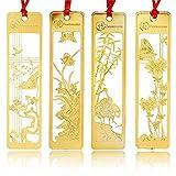 Amupper, 4segnalibri cinesiin metallo dorato