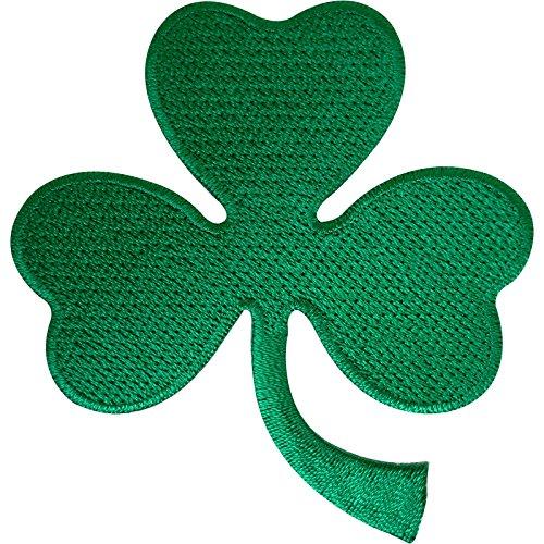 Irlandés 3hojas Trébol Trébol parche insignia