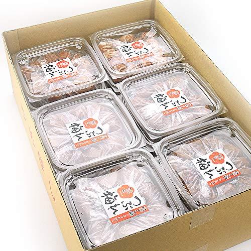 うめ海鮮 紀州南高梅 つぶれ梅 白干し梅 塩分約20% 業務用 7.2kg(400g×18) 無添加 [訳あり]