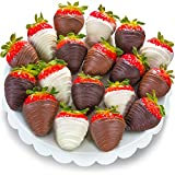 18 Berry Bites Chocolate Covered Strawberries (Fun Size)