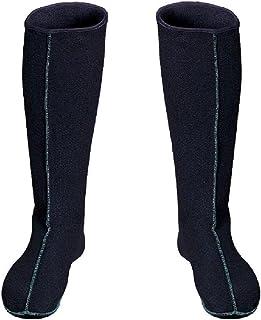 3Kamido, CALCETINES largos de FIELTRO, CALANTADORES, calcetines térmicos, calcetines calientes, botas de goma