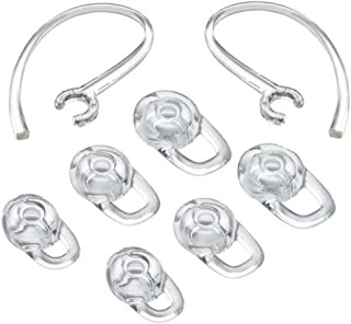 Earbuds Eargel Earhooks Replacement Earbuds Ear-Tips and Earhook 2 Small 2 Medium 2 Large and 2 Earhook