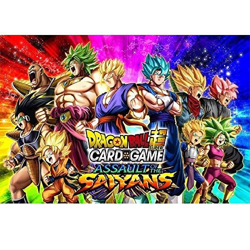 Dragon Ball Super Series 7 Assault of the Saiyans TCG Booster Display Box - 24 Packs