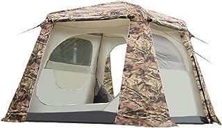 YDD camping utomhus 5–8 personer kamouflage-semestertält vattentätt regn hel kroppsstorlek familj-campingtält lämplig för ...