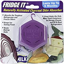 product image for Innofresh Fridge-It- Refrigerator Deodorizer 3 PACK, Odor Absorber and Air Freshener. Natural Activated Charcoal and Fragrance Free, Lasts up to 6-Months