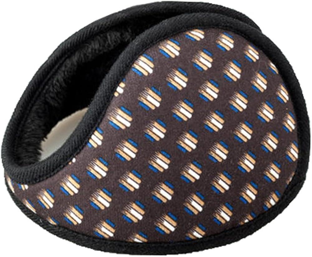 Unisex Outdoor Winter Warm Earmuffs Behind-the-Head Ear Muffs (006)