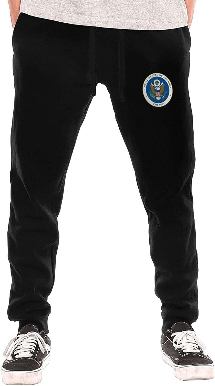 Bpauuiq Casual Cheap SALE Start Men's Sweatpants with Open Bottom Fleece Pockets 4 years warranty