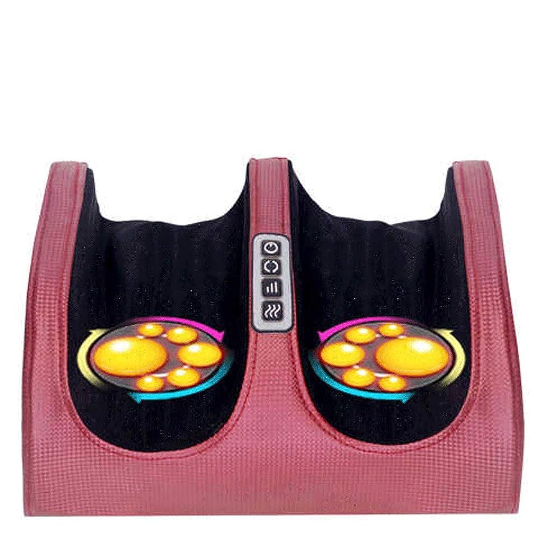 内部フラップ宿泊熱と電気ディープモルマッサージと空気圧縮フットマッサージャー - 血液循環、足の筋肉の救済のために。