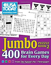 USA TODAY Jumbo Puzzle Book 2: 400 Brain Games for Every Day (Volume 11) (USA Today Puzzles)