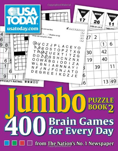 USA TODAY Jumbo Puzzle Book 2: 4...