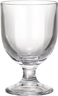 プラキラ(Plakira) 割れない ローステムグラス ワイングラス グラス 赤ワイングラス 白ワイングラス 透明 クリア 220ml 食洗機対応 耐熱100度 キャンプ・アウトドア ・グランピング・子供にも トライタン素材 日本製