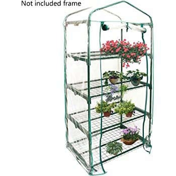 Missdish Tomato Growbag Growhouse Greenhouse For Seeds Cuttings /& Plants 120x70x66cm