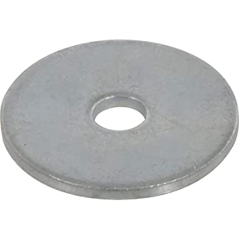 1//2 X 1-1//2 O.D Stainless Steel Fender Washers Pack of 12