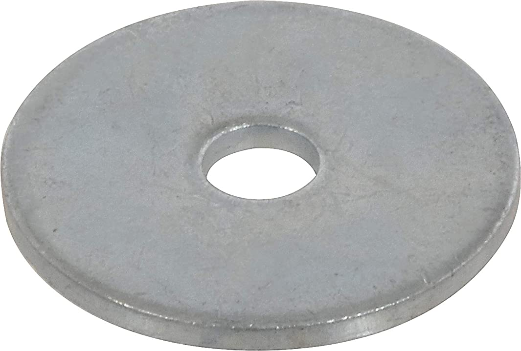 The Hillman Group 290001 1/8X3/4 Zinc Fender Washers, 1/8