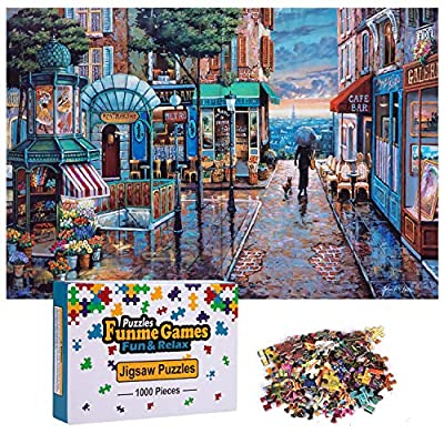 Amazon - Save 65%: 1000 Piece Puzzles for Adults Jigsaw Puzzle Teens Fun and Challenging Gam…