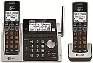 AT&T CL83213 DECT 6.0 Cordless Phone - Cordless - 1 x Phone Line - 1 x Handset - Speakerphone - Answering Machine - Caller ID - Yes