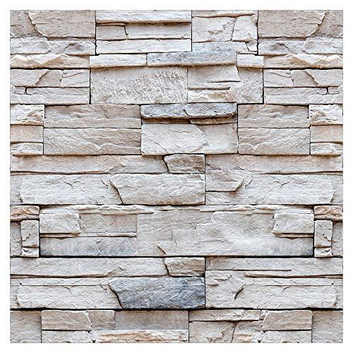 murando - Vlies Tapete Deko Panel Fototapete Wandtapete Wand Deko 10 m Tapetenrolle Mustertapete Wandtapete modern design Dekoration – Steinoptik Steinwand f-C-0336-j-a