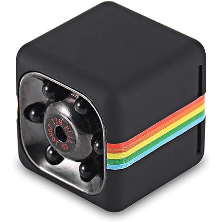 Festnight Quelima Sq11 Mini Camera 1080p Full Hd Car Dvr Hidden Camera Dvr Recorder Dv Camera Night Vision Video Camera Black Auto