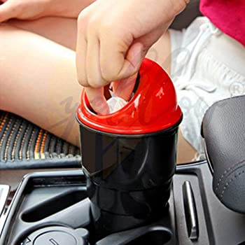 Yellow Leaf Products Car Accessories Interior Decoration Mini Car Dustbin 1 Piece | Trash Garbage Bin for Office (1)