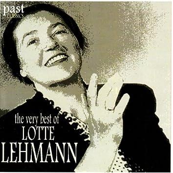 The Very Best of Lotte Lehmann