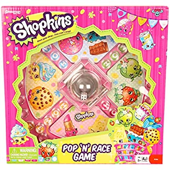 Shopkins Pop 'N' Race Game -- Classic Game wi | Shopkin.Toys - Image 1