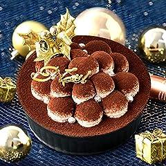 クリスマスケーキ 2020 Xmas クリスマスケーキ4号 予約 ティラミス 冷凍【オーナメント ヒイラギ付】お取り寄せ 人気 ケーキ スイーツ