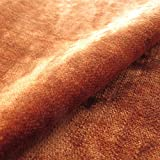 Tabley Sevilla Plain ': Orange Samt Polster Sofa Kissen aus
