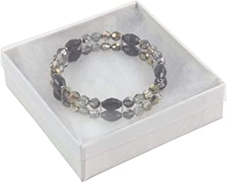 View-top Cotton Filled Jewelry Box #33 (Pack of 20)