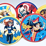 Super Hero Girls Cupcake Toppers Cake Topper Party Favors Birthday Party Supplies Set of 20 from Blue Fox Baking