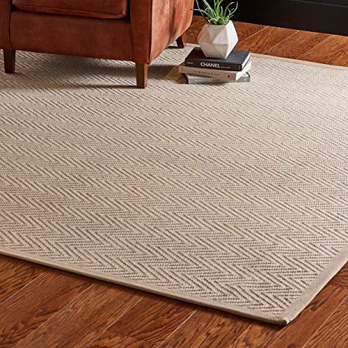 Eine Marke von Amazon - Movian Erma - Rechteckiger Teppich, 365,8x274,3cm (L x B), einfarbig