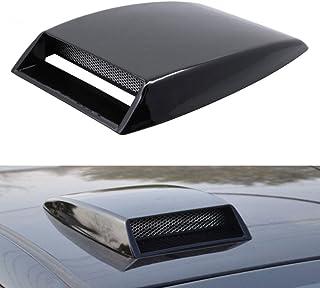 Jicorzo - ユニバーサルアウディVWトヨタヒュンダイのための車の空気の流れインテークフードスクープターボボンネットベントカバーカースタイリングフィット