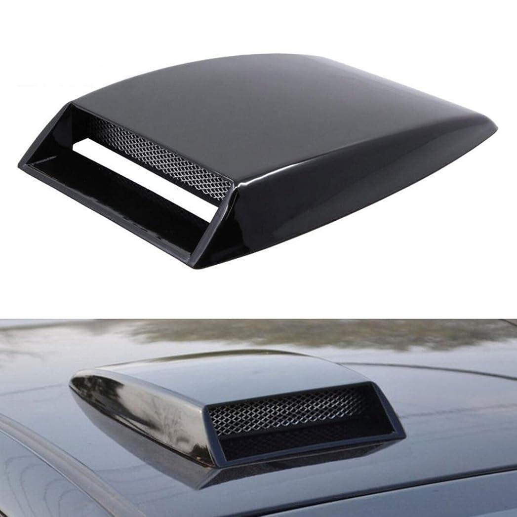 率直な自分の力ですべてをするすりJicorzo - ユニバーサルアウディVWトヨタヒュンダイのための車の空気の流れインテークフードスクープターボボンネットベントカバーカースタイリングフィット