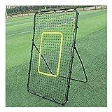 WYL Sports Rebond Cadre – Filet de rebond – Rebounder Net pour enfants et adultes – Jeu de football – Baseball Softball – Aide à l'entraînement – Cible grève – Jeu de but