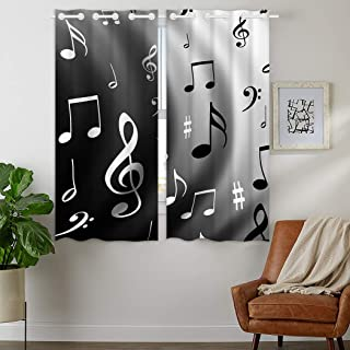 Best music themed curtains Reviews