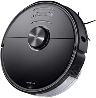 Roborock S6 MaxV Robot Vacuum Cleaner with ReactiveAI and Lidar Navigation, 2500Pa Strong Suction, Intelligent Mopping Robotic Vacuum and Mop
