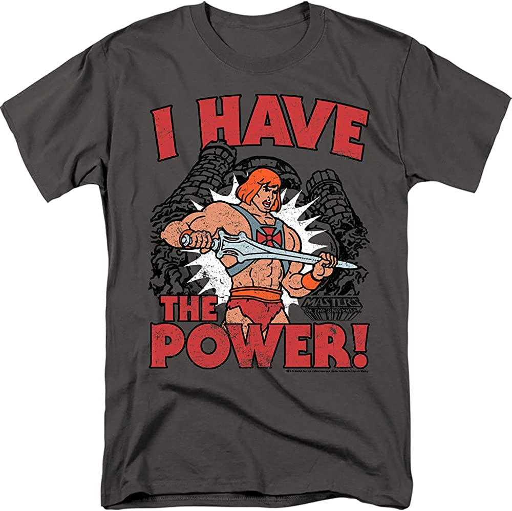 I Have The Power - Sales He-Man T-Shi Adult Universe of Max 52% OFF Masters