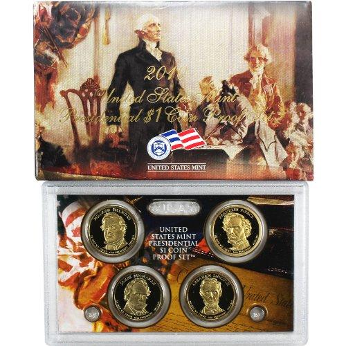 2010 S Presidential Dollars Proof Set Set Uncirculated