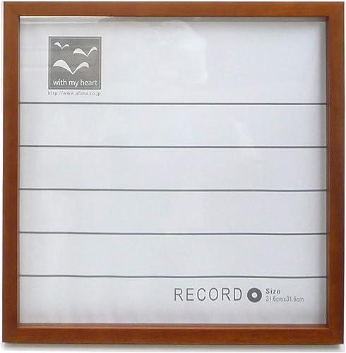 Aruna record Wood Frame Dark braun (japan import)